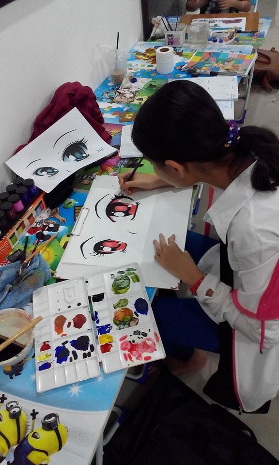 học vẽ anime quận 7