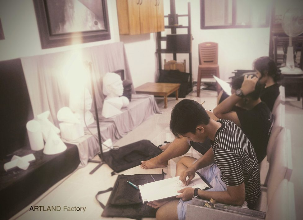 lớp dạy vẽ quận 7