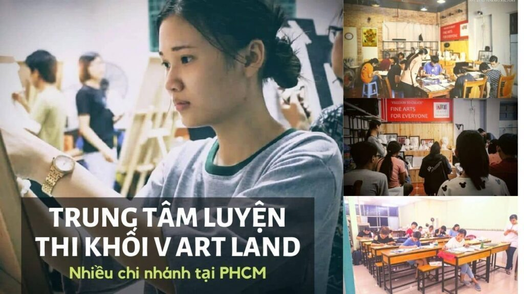 Trung tâm luyện thi kiến trúc khối v Art Land
