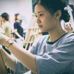 ve chan dung chi quan 7  trung tâm dạy vẽ mỹ thuật tp hcm received 1078120225623430 1 150x150