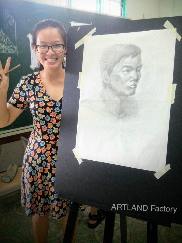 vẽ chân dung