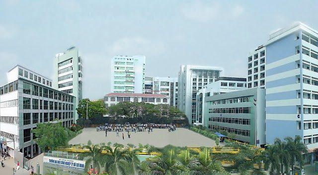 Trường Đại Học Công Nghiệp TP HCM  SO SÁNH THÔNG TIN CÁC TRƯỜNG KHỐI V H dai hoc cong nghiep tp hcm