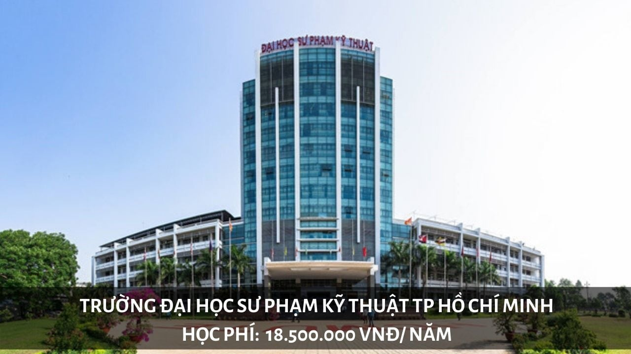 Học phí trường Đại học Sư phạm Kỹ thuật TP Hồ Chí Minh năm 2019
