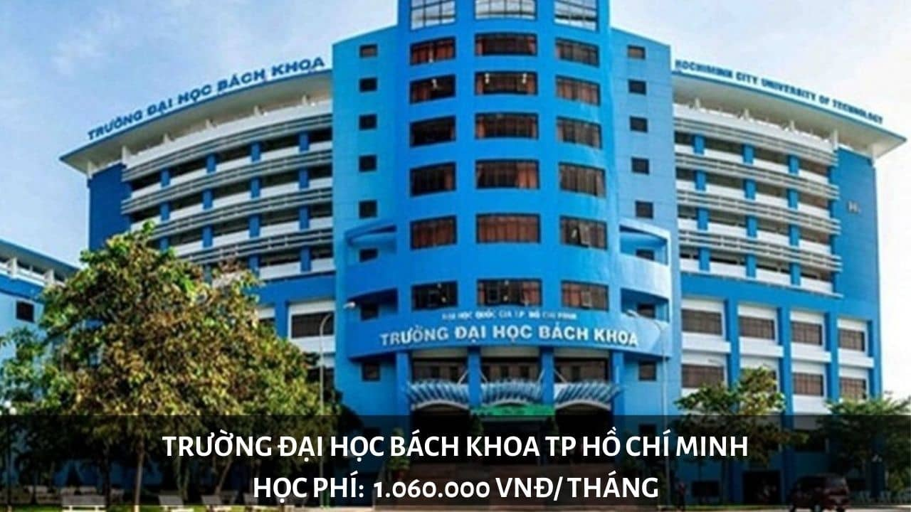Học phí trường Đại học Bách Khoa TP Hồ Chí MInh (năm 2019-2020)