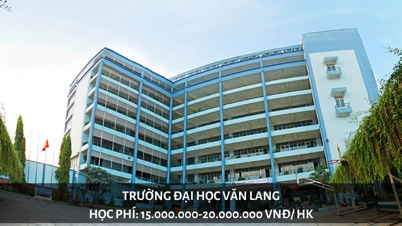 Học phí trường Đại học Văn Lang năm 2019