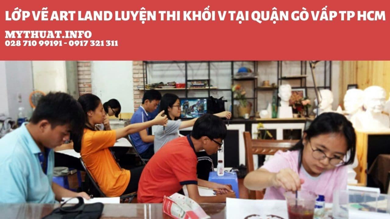 Lớp vẽ art land luyện thi khối v tại quận Gò Vấp TP HCM