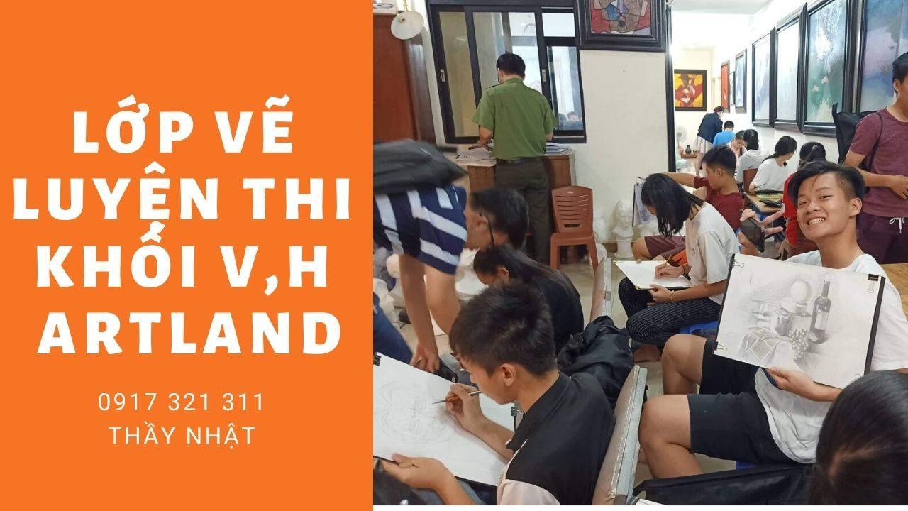 Lớp vẽ luyện thi khối V,H Artland