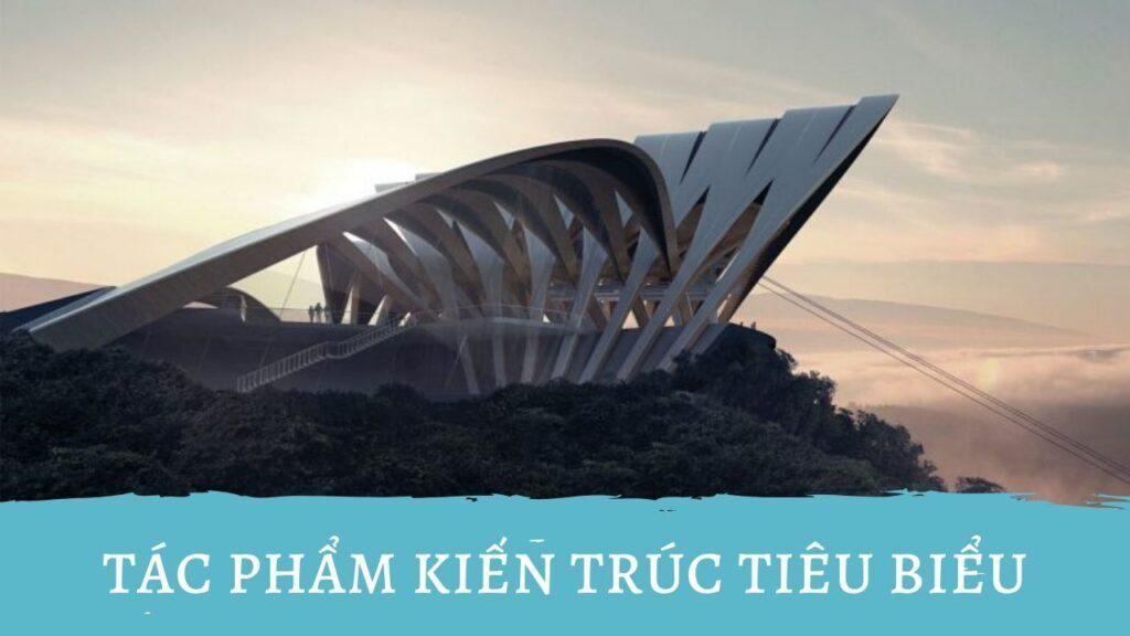 Tác phẩm kiến trúc tiêu biểu