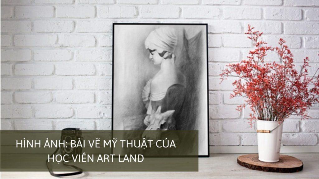 Hình ảnh: bài vẽ mỹ thuật của học viên Art Land