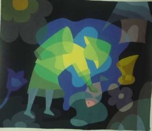 Bố cục màu lạnh  ĐỀ THI TRANG TRÍ MÀU KHỐI H 2 1 300x258