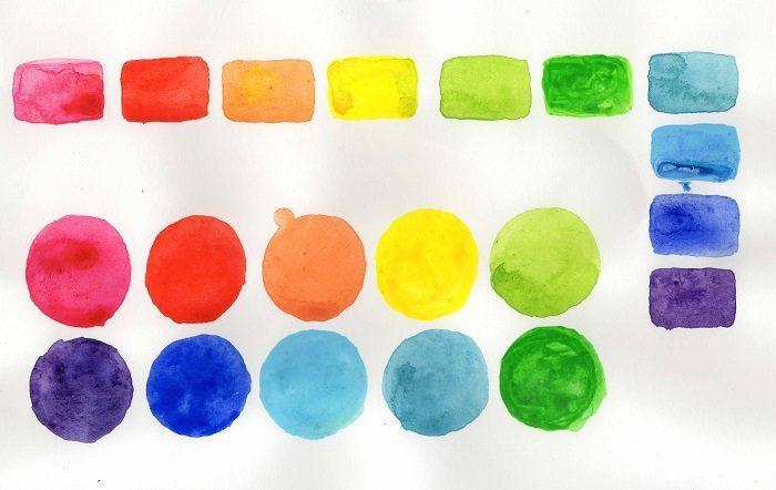 cách pha màu nước cơ bản