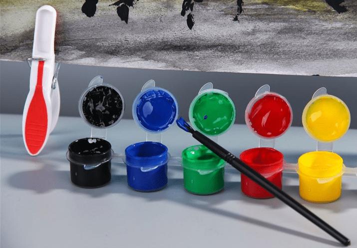 Cách dùng màu acrylic  CÁCH DÙNG MÀU ACRYLIC TẠO NÊN TÁC PHẪM MỸ THUẬT TUYỆT VỜI 1 1