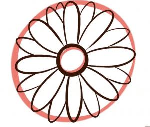 cách vẽ bông hoa  HƯỚNG DẪN CÁCH VẼ BÔNG HOA ĐƠN GIẢN CHO BÉ C3 300x254
