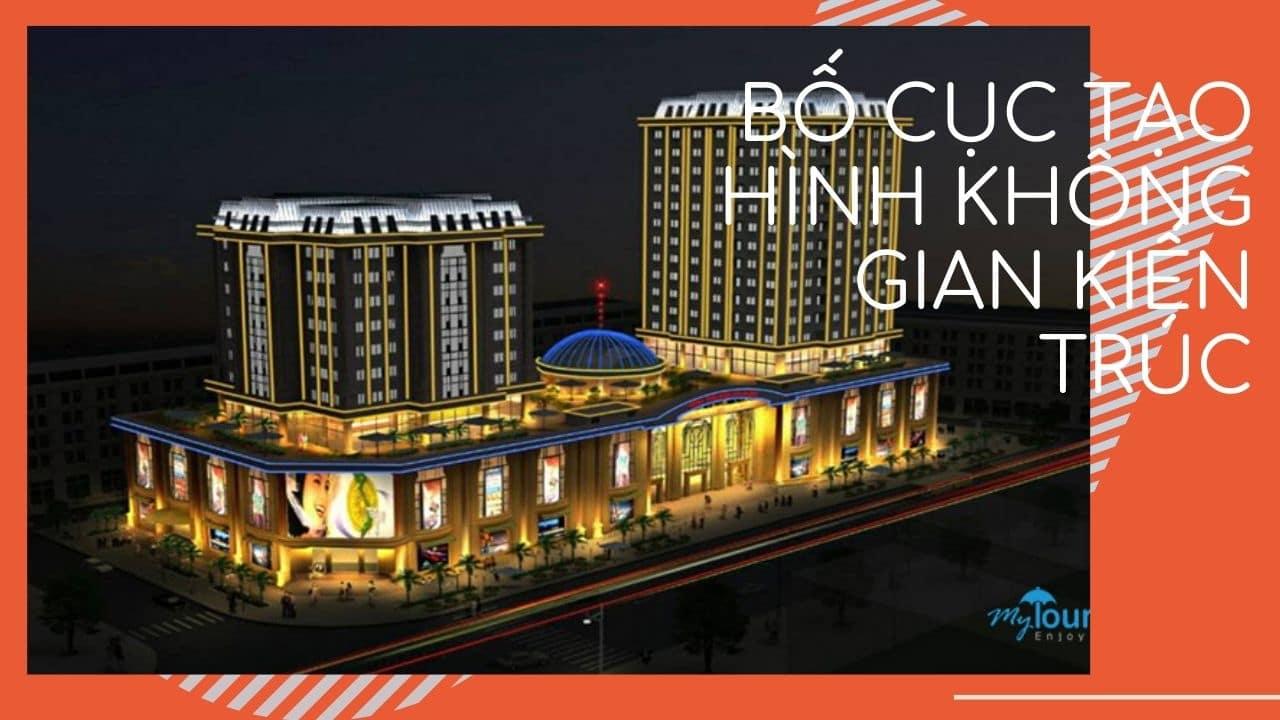Bố cục tạo hình không gian kiến trúc( http://www.theminh.com/san-pham/1331/vinh-trung-plaza-da-nang.html )