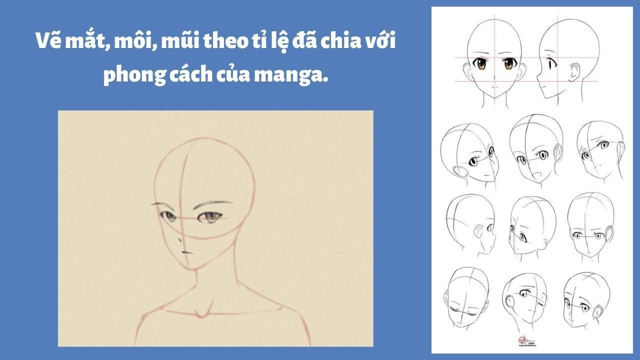 Vẽ nhân vật nam bước 3