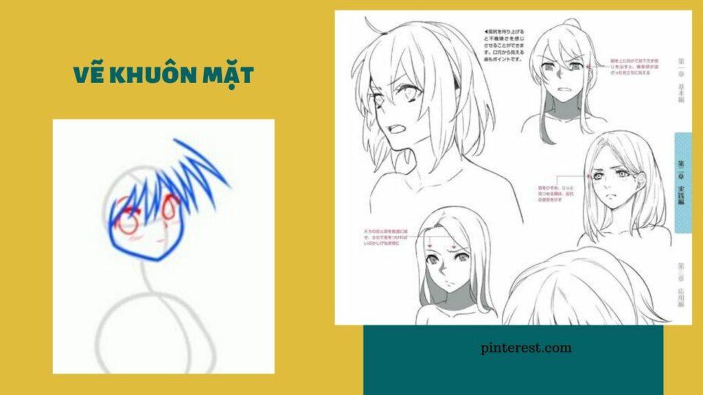 Vẽ nhân vật nữ_bước 3
