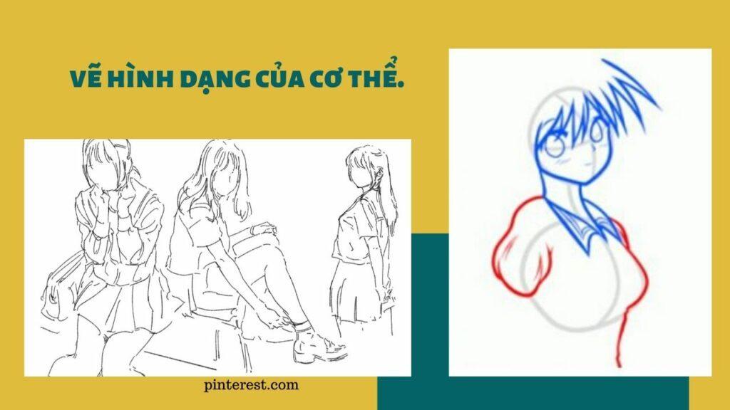Vẽ nhân vật nữ_bước 5