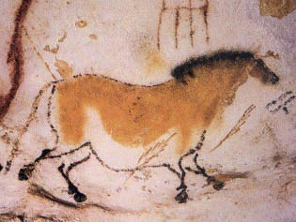 Chi tiết bức vẽ trong hang động ở thời kỳ đồ đá  NGÀNH HỘI HỌA VÀ NHỮNG ĐIỀU CẦN BIẾT Chi ti   t b   c v    trong hang      ng     th   i k