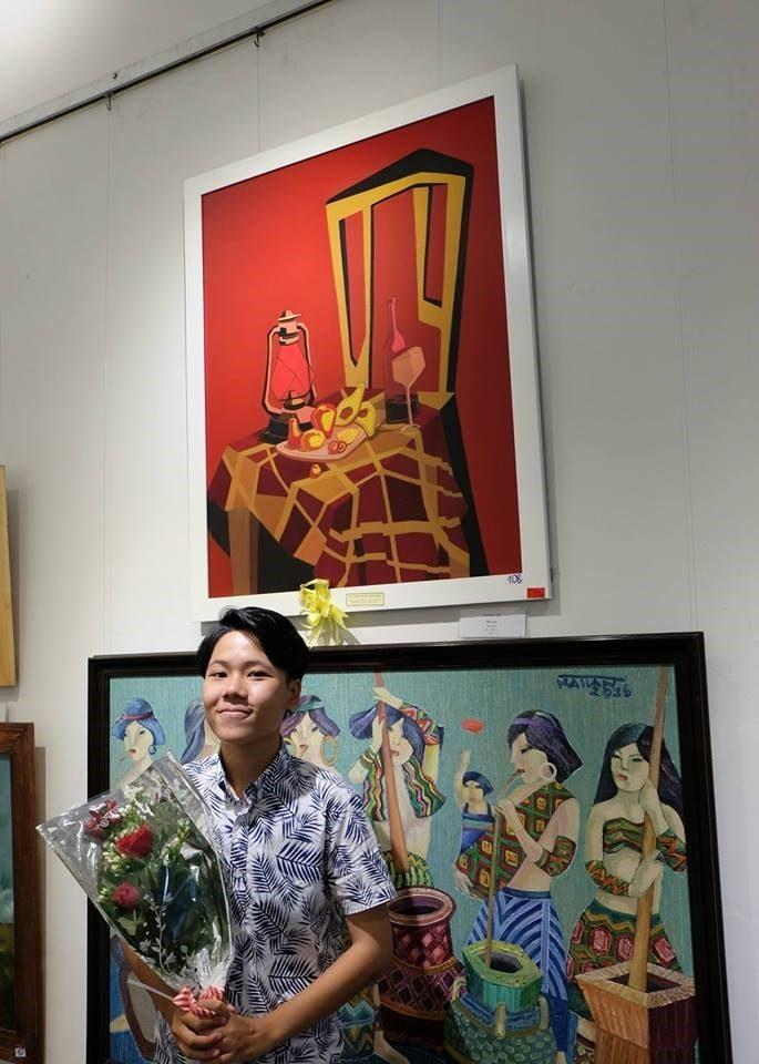 Tác phẩm đoạt giải của Võ Nhật Hạ  NGÀNH HỘI HỌA VÀ NHỮNG ĐIỀU CẦN BIẾT T  c ph   m   o   t gi   i c   a V   Nh   t H