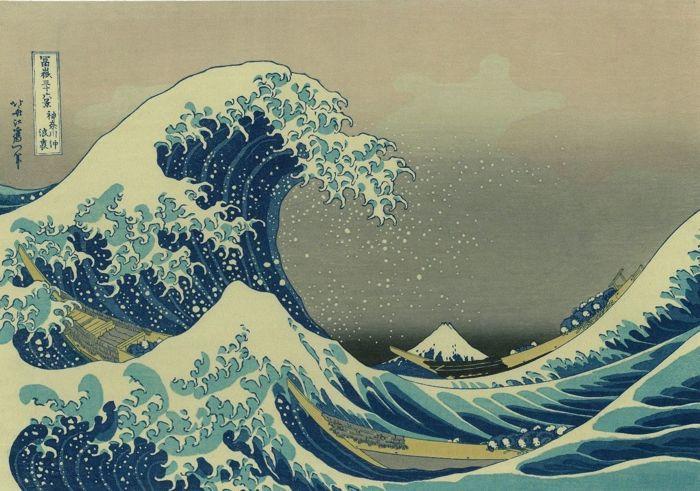 TỔNG QUAN VỀ NGÀNH ĐỒ HỌA MỸ THUẬT VIỆT NAM katsushika Hokusai