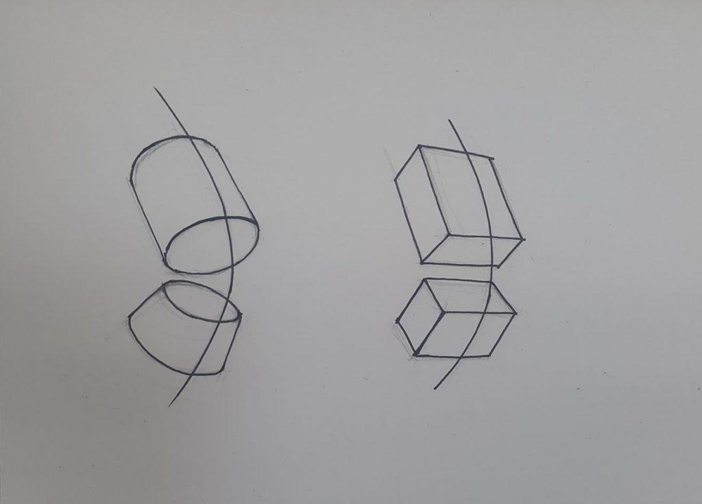 Vẽ thân người theo khối trụ và khối vuông  HÌNH KHỐI CƠ BẢN VÀ TẦM QUAN TRỌNG CỦA PHÂN TÍCH CẤU TRÚC VẬT THỂ kh   i th  n ng     i e1531713708717 1024x735