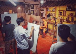 Dạy vẽ chân dung  Dạy vẽ chân dung – Những điều cơ bản cần nắm 4 3 300x216