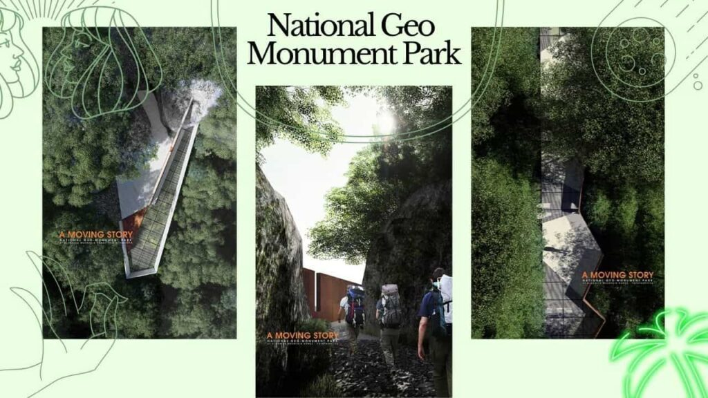 """A moving story """"National Geo Monument Park"""""""