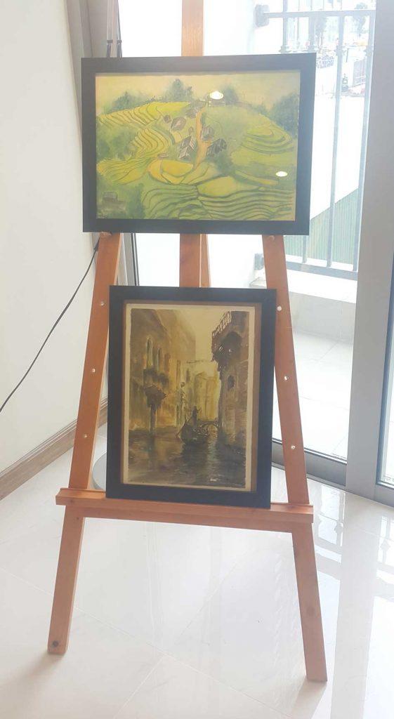 Bài-vẽ-màu-nước-của-học-viên-Art-Land-3  HỌC VẼ MÀU NƯỚC CƠ BẢN CHO NGƯỜI MỚI BẮT ĐẦU B  i v    m  u n     c c   a h   c vi  n Art Land 3 561x1024