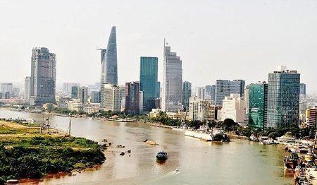 Cảnh quan Thành phố Hồ Chí Minh (Nguồn- Internet)  SO SÁNH CÁC NGÀNH KHỐI V TRONG ĐH KIẾN TRÚC C   nh quan Th  nh ph    H    Ch   Minh Ngu   n Internet
