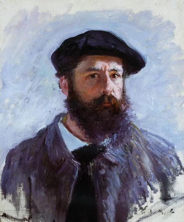 DANH HỌA CLAUDE MONET VÀ NHỮNG TÁC PHẨM ĐẶC SẮC Ch n dung danh h a Claude Monet