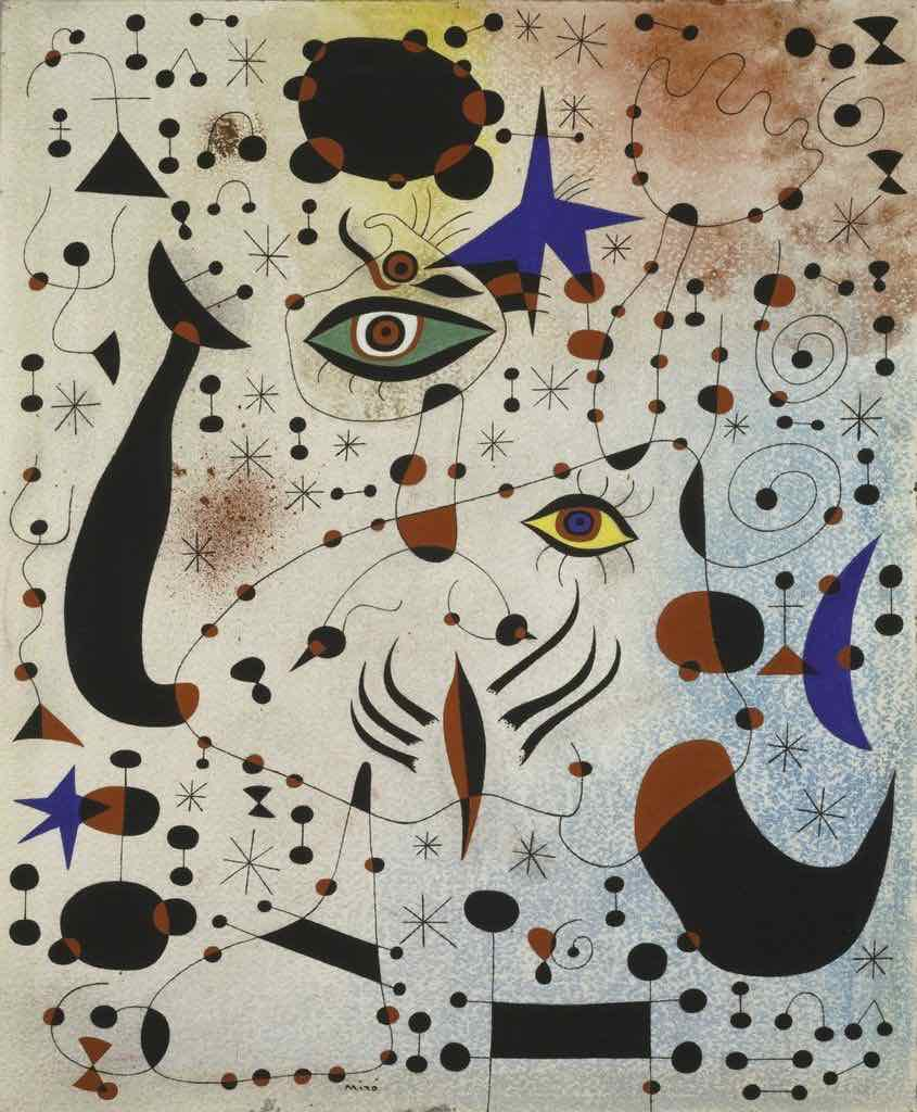 Joan Miró Ciphers and Constellations in Love with a Woman, … Art Institute of Chicago DẠY HỌC VẼ CHO TRẺ EM, PHƯƠNG PHÁP HIỆU QUẢ Joan Mir Ciphers and Constellations in Love with a Woman Art Institute of Chicago
