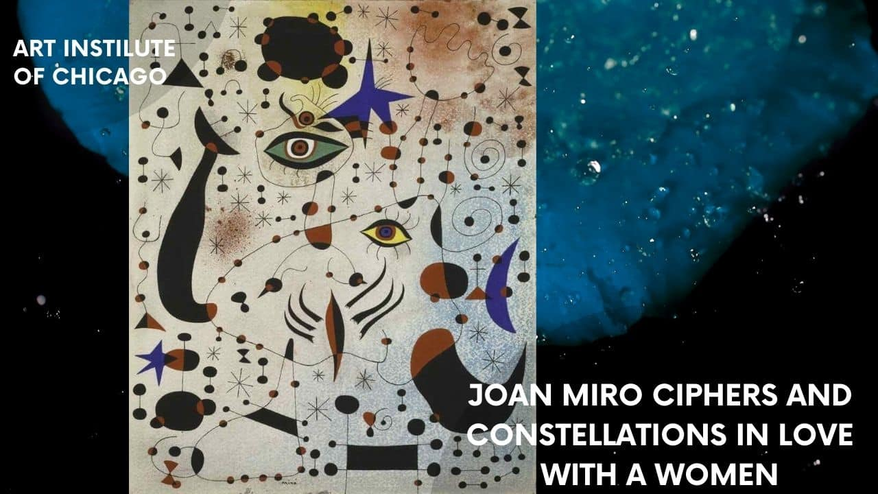 Phương Joan Miró Ciphers and Constellations in Love with a Woman Art Institute of Chicagopháp hiêu quả dạy học cho