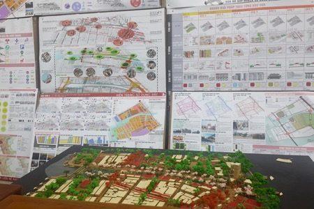 Mô hình và đồ án tốt nghiệp của sinh viên ngành Quy hoạch vùng và đô thị tại đại học Kiến trúc TPHCM (Nguồn- Kienviet.vn)