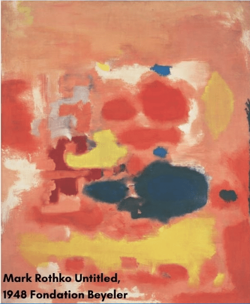 Mark Rothko Untitled 1948 Fondation Beyeler