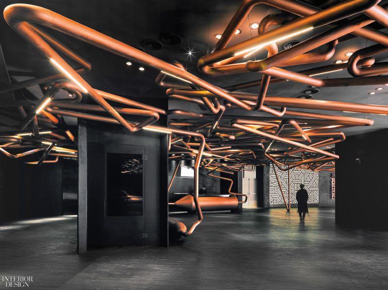 Shanghai Omnijoi International Cinema in Shanghai, China. Photography by Jonathan Leijonhufvud  CÁC CÔNG TRÌNH THIẾT KẾ NỘI THẤT ẤN TƯỢNG NĂM 2017 Shanghai Omnijoi International Cinema in Shanghai China