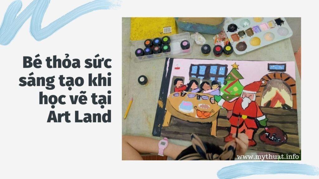 Bé học vẽ tại Art Land