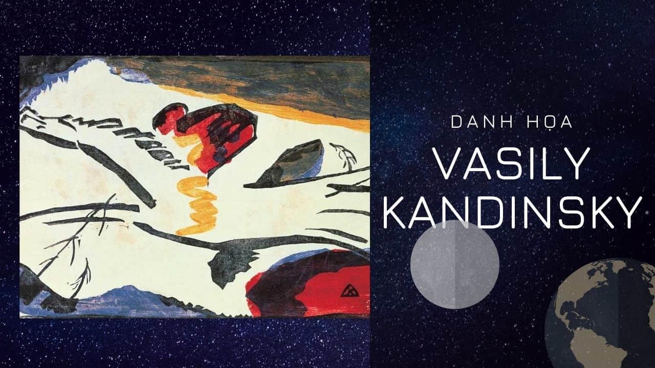 Chân dung tự họa của Danh Họa Wassily Kandinsky