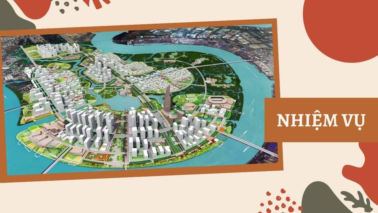 Nhiệm vụ của ngành Quy hoạch vùng và đô thị