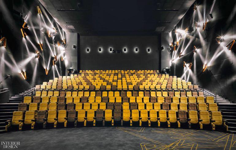 Tranh điêu khắc trên tường, Shanghai Omnijoi International Cinema in Shanghai, China. Photography by Jonathan Leijonhufvud  CÁC CÔNG TRÌNH THIẾT KẾ NỘI THẤT ẤN TƯỢNG NĂM 2017 one plus partnership shanghai omnijoi cinema seating 1217