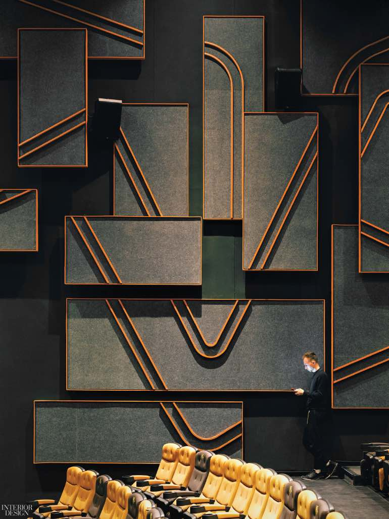 Tranh điêu khắc trên tường, Shanghai Omnijoi International Cinema in Shanghai, China. Photography by Jonathan Leijonhufvud  CÁC CÔNG TRÌNH THIẾT KẾ NỘI THẤT ẤN TƯỢNG NĂM 2017 one plus partnership shanghai omnijoi cinema wall sculpture 1217