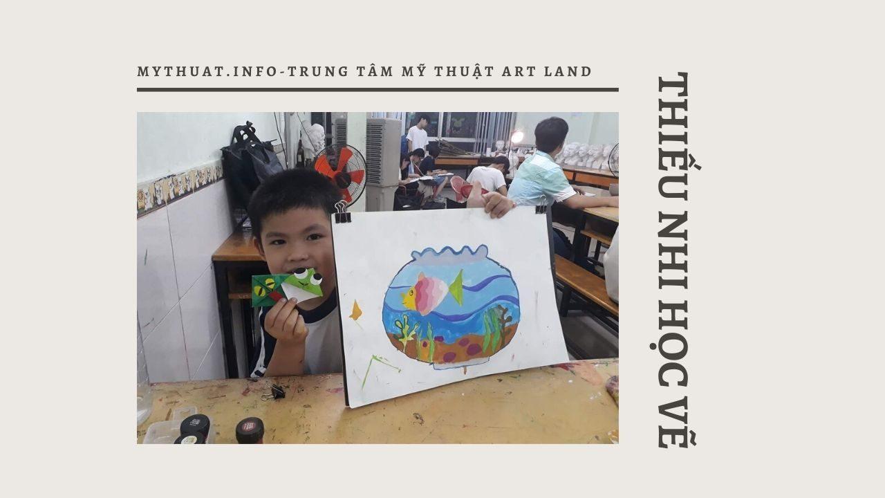 Lớp dạy vẽ thiếu nhi quận 10