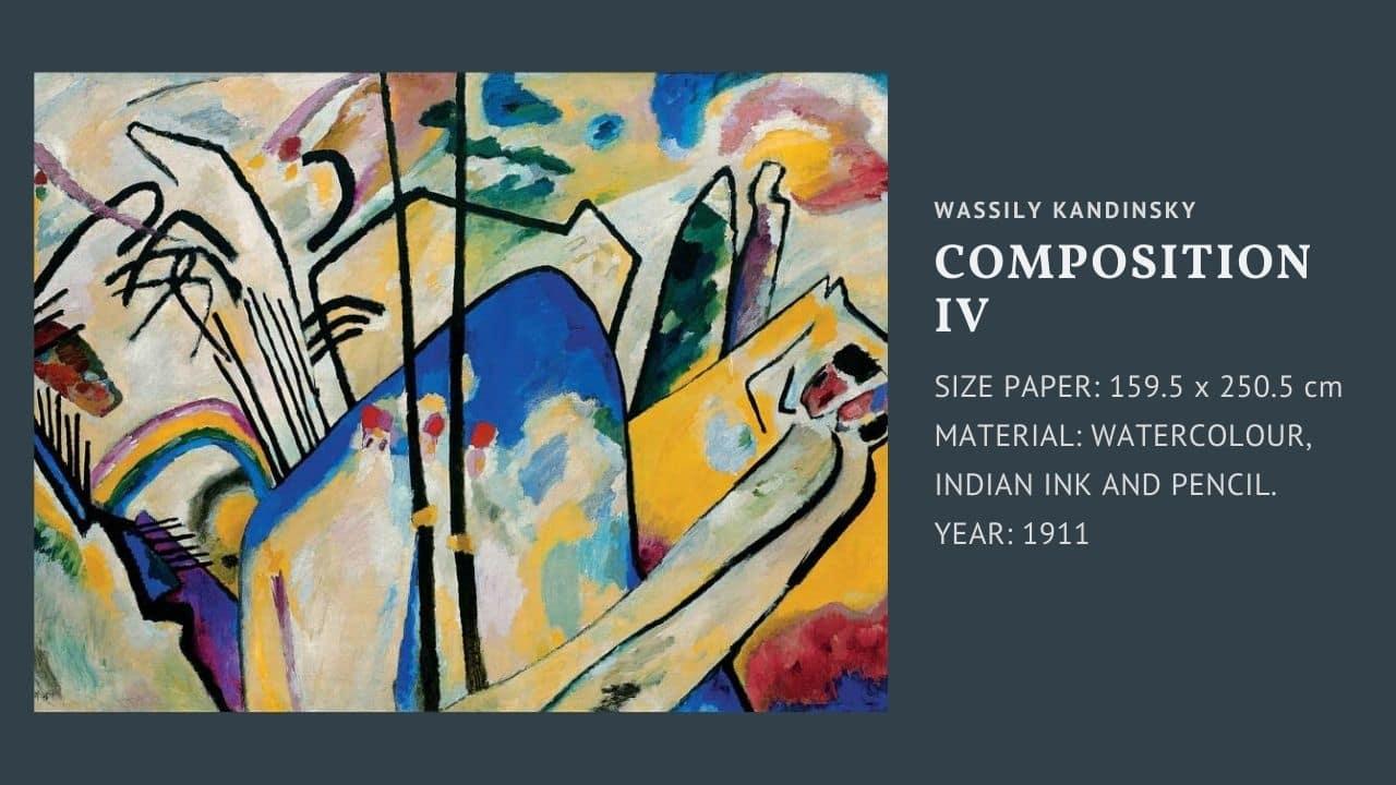 "Tranh của họa sĩ Wassily Kandinsky bức "" composition VII """