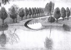 vẽ tranh ký họa  Mách bạn những kỹ thuật vẽ tranh ký họa đẹp và đơn giản 2 7 300x211