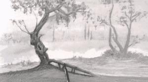ký họa ngoài trời  Hướng dẫn một số kỹ thuật vẽ ký họa ngoài trời đẹp 3 300x167