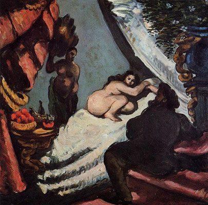A Modern Olympia (1869-1870)  DANH HỌA PAUL CÉZANNE VÀ HẬU ẤN TƯỢNG A Modern Olympia 1869 1870