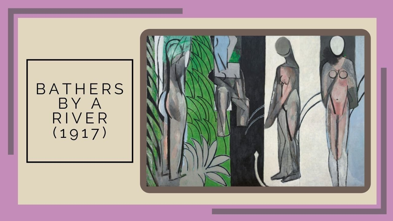Bathers by a River (1917) ( nguồn internet)