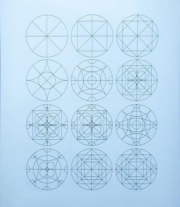 Cấu-trúc-hình-tròn  PHƯƠNG PHÁP TRANG TRÍ HÌNH TRÒN C   u tr  c h  nh tr  n