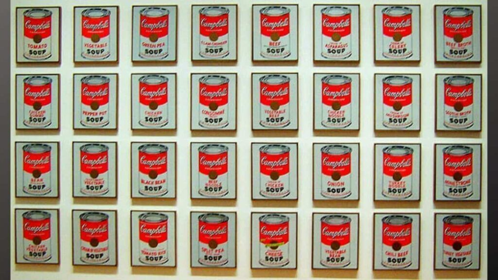 Campbells Soup Cans (1962)