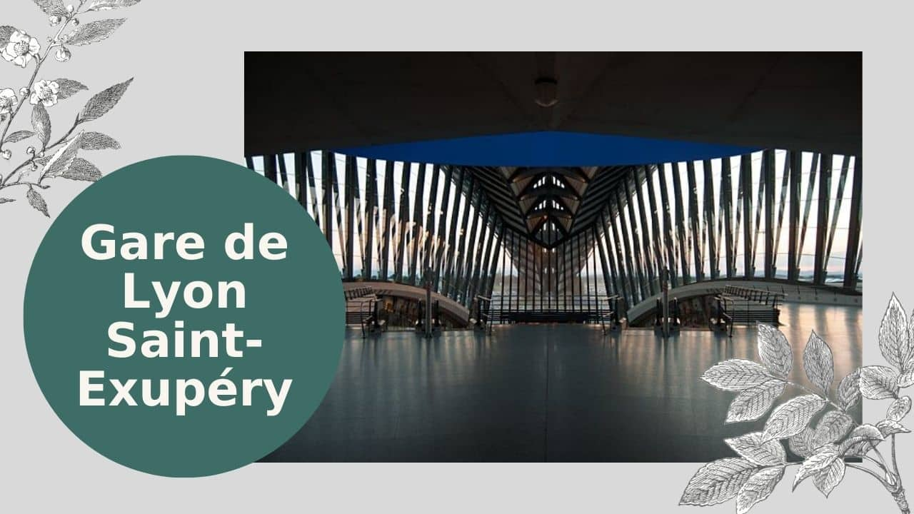 ga Gare de Lyon Saint-Exupéry