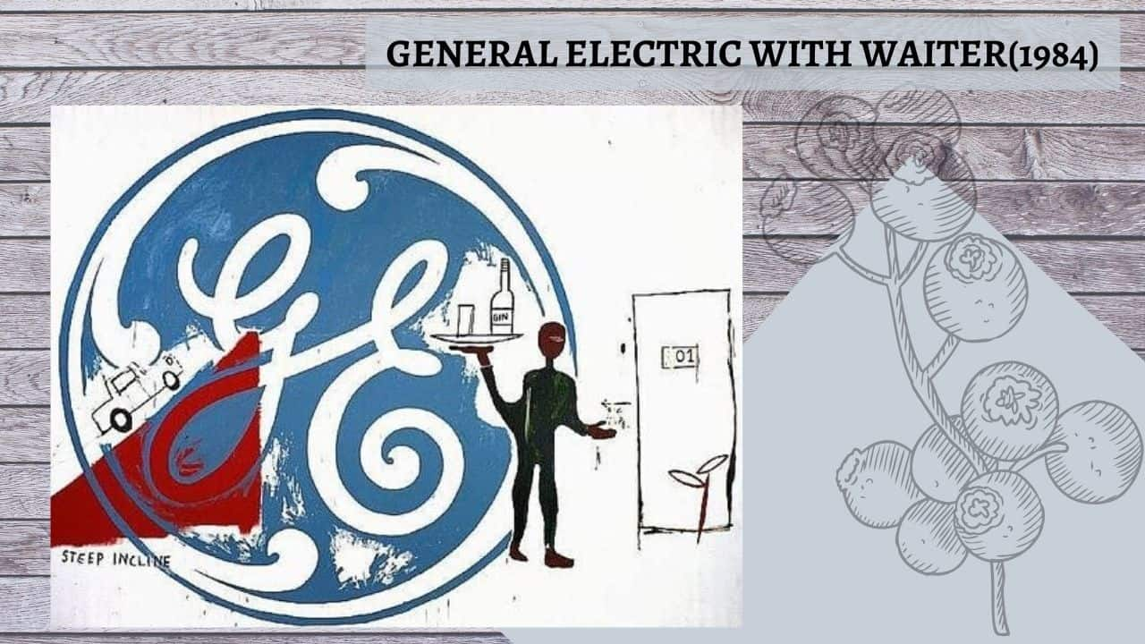 General-Electric-with-Waiter-(1984)  DANH HỌA ANDY WARHOL VÀ POP ART General Electric with Waiter 1984